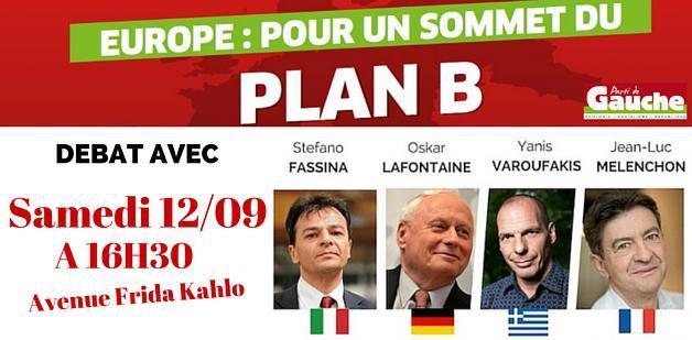 Plakat zur Veranstaltung in Paris am 12.Sept. 2015