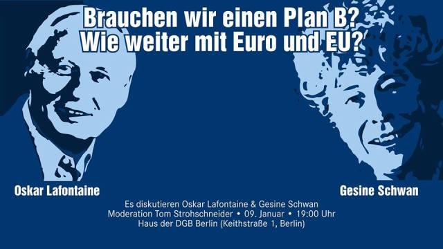 Brauchen wir eine Plan B?