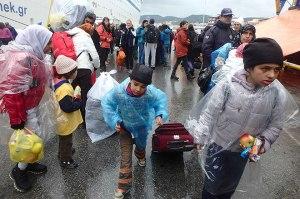 Flüchtlinge Lesbos
