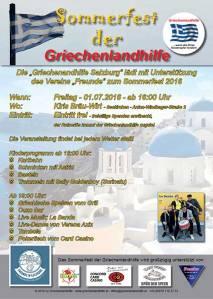 Sommerfest Griechenlandhilfe