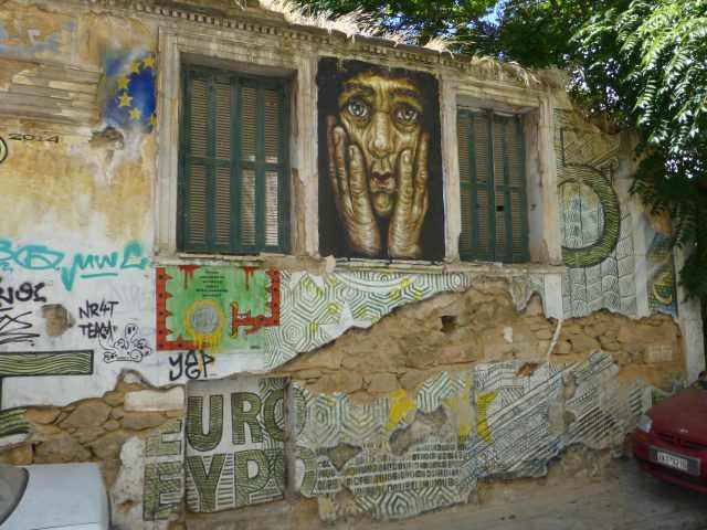 Grafiti in Exarchia / Athen