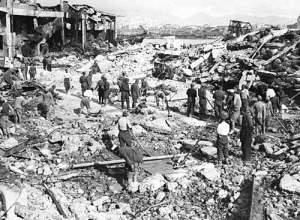 Deutsche Bombardierung von Piräus