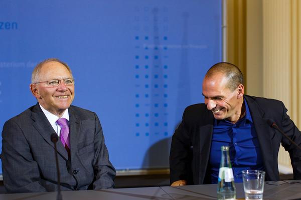 Wolfgang Schaeuble Varoufakis Yanis
