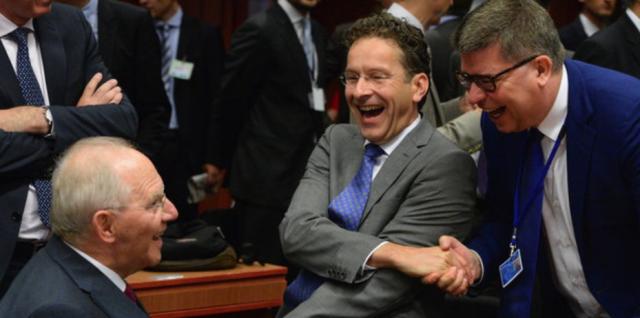 Eurogruppe schäuble Dijselbloem
